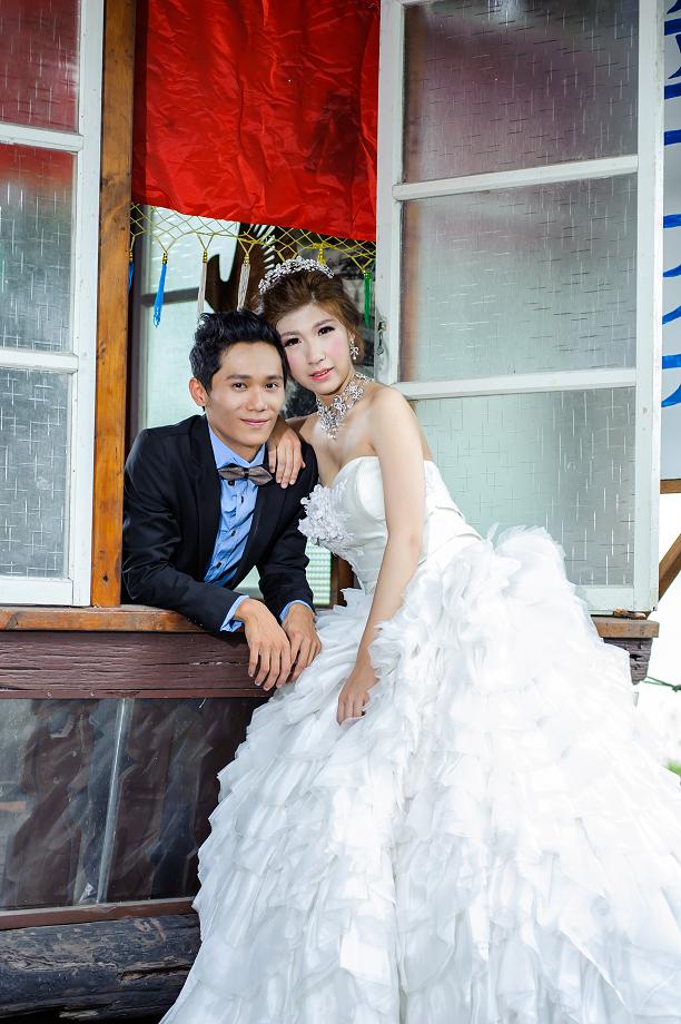 嘉義自助婚紗造型 [ 勁戎 & 淑雅 ] 歐美風格的時尚名媛