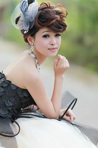 嘉義自助婚紗創作 | 白紗造型 甜美龐克 模特兒:舒舒
