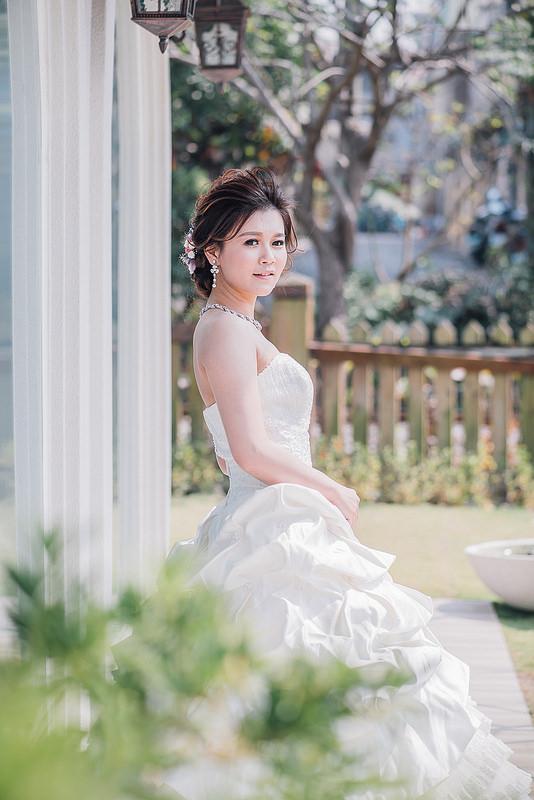 嘉義自助婚紗創作 | 白紗造型 韓風造型新娘