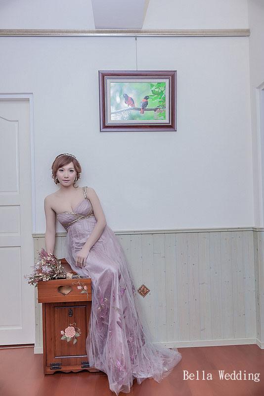 嘉義新秘婚紗創作 | 婚紗造型 韓系編髮造型 模特兒:渥薇