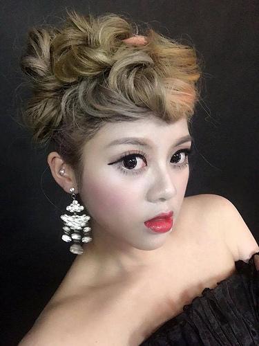嘉義自助婚紗創作 | 白紗造型 甜美龐克 模特兒:語箏