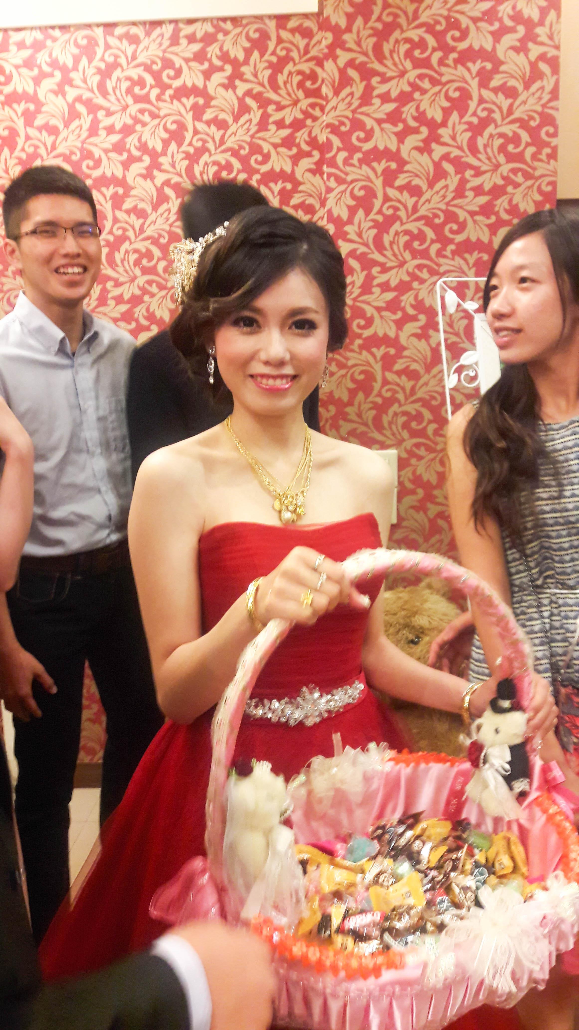 嘉義新秘,大北京餐廳,新娘秘書