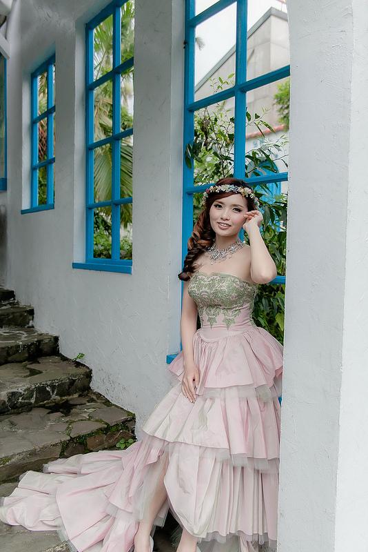 嘉義新秘婚紗創作 | 婚紗造型 韓風典雅編髮 模特兒:曾詩庭