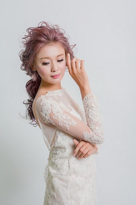 嘉義新秘,新娘秘書,新秘,短髮新娘造型,韓風新娘造型