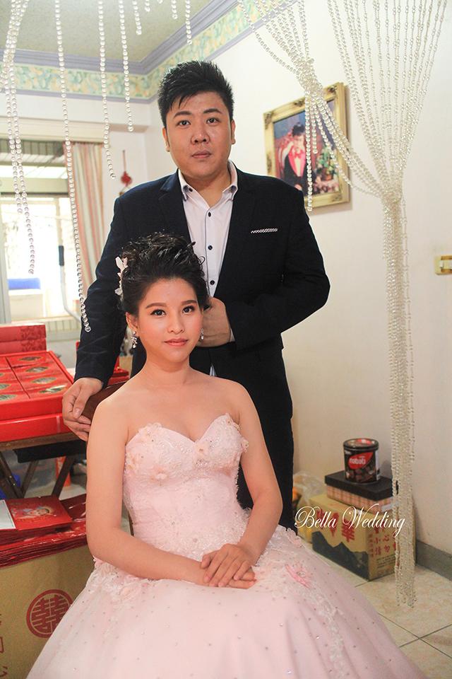 嘉義新秘,大林新秘,短髮新娘,時尚文定造型,黑髮新娘